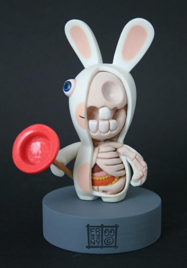 Lapin-Cretin-Anatomie-Jason-Freeny-Sculpture-Geekorner