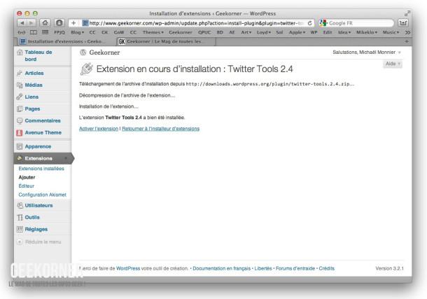 Twitter-Tools-Installation-Geekorner