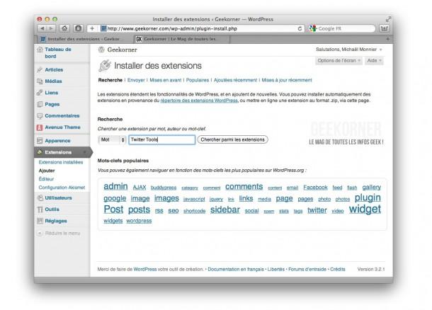 Wordpress-Installation-Extension-Geekorner-1