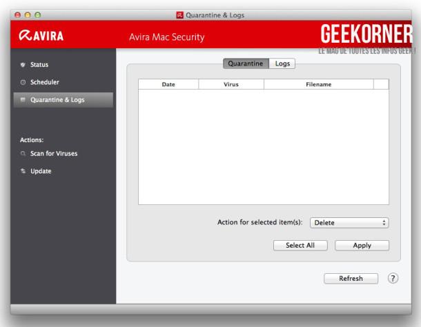 Avira Antivirus Mac Gratuit - Geekorner - 08