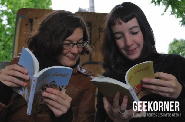 Iris - Zviane - l'ostie d'chat - FBDM 2012 - Geekorner - 2