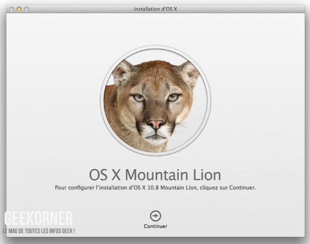 Télécharger Mountain Lion - Geekorner - - 05