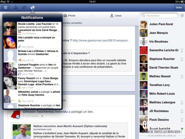 Facebook iOS Aout 2012 - Geekorner 08