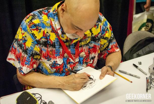 George Pérez - DC Comics - Comiccon Montréal 2012 - Geekorner - 001