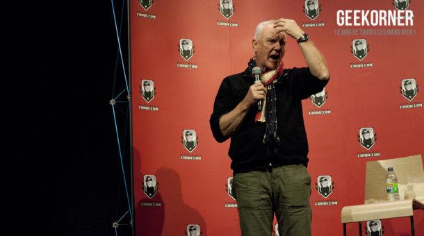 Malcolm McDowell - Comiccon Montréal 2012 - Geekorner - 008