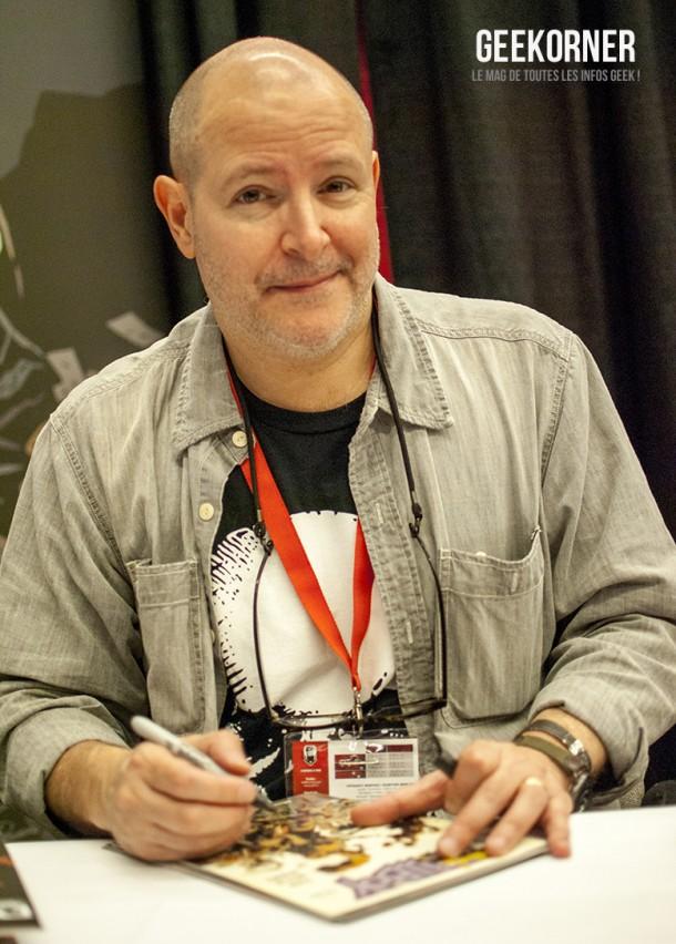 Mike Mignola - Hellboy - Comiccon Montréal 2012 - Geekorner - 005