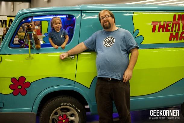 Mystery Machine - Scooby-Doo - Comiccon Montréal 2012 - Geekorner - 001