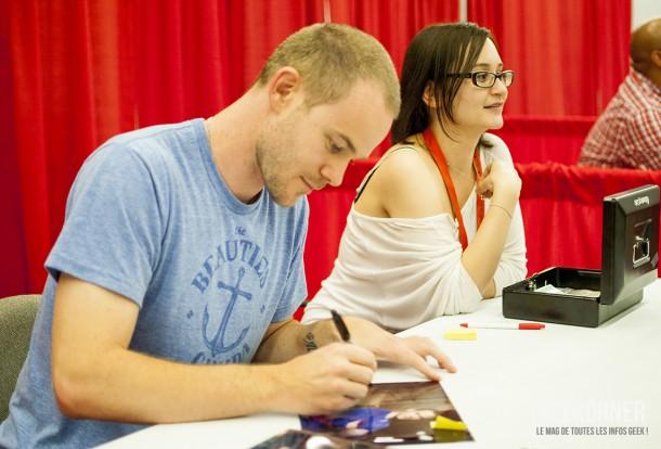 Warehouse 13 - Aaron Ashmore - Comiccon Montréal 2012 - Geekorner - 010