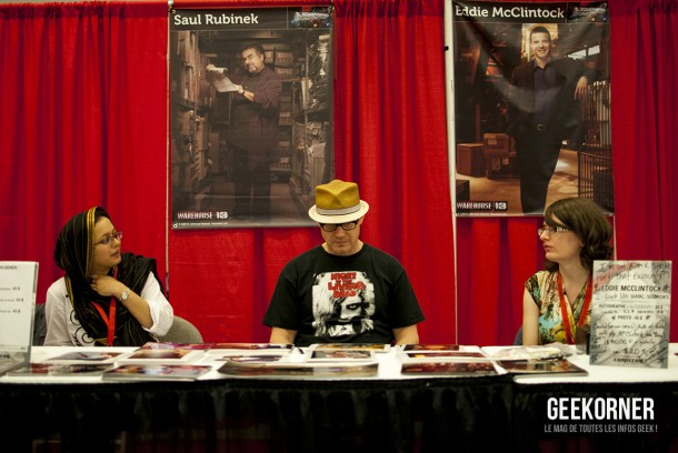 Warehouse 13 - Eddie McClintock - Comiccon Montréal 2012 - Geekorner - 007