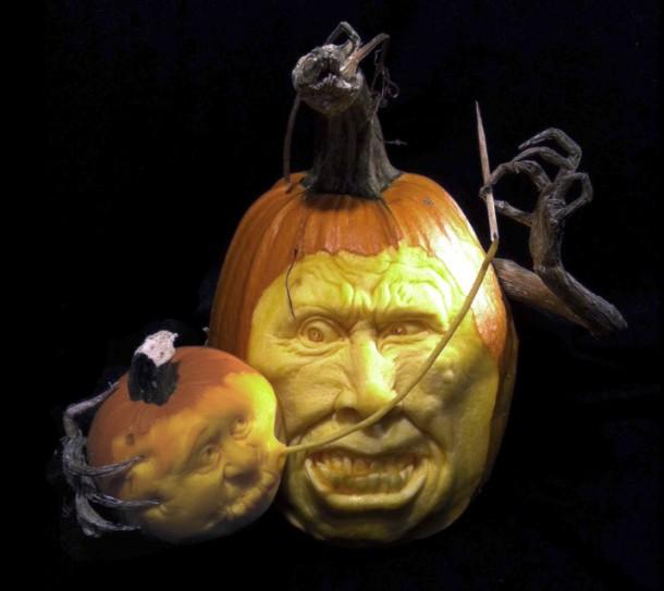 Citrouilles Halloween - Art Geek Horreur - Ray Villafane- 015