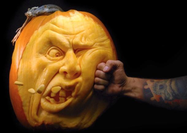 Citrouilles Halloween - Art Geek Horreur - Ray Villafane- 019