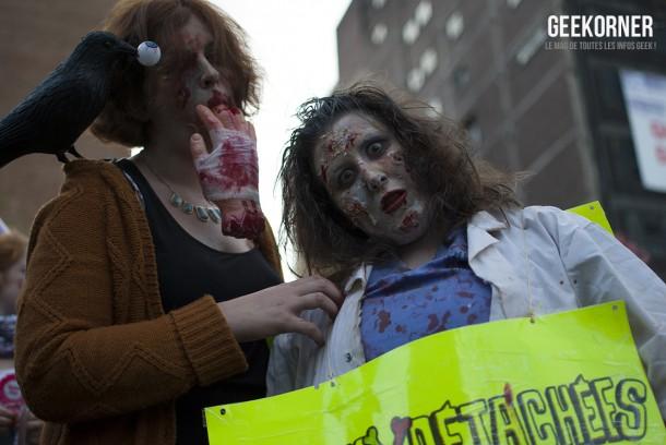 Marche Zombies Walk Montreal 2012 - Geekorner - 116