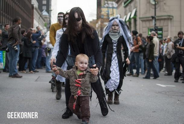 Marche Zombies Walk Montreal 2012 - Geekorner - 152