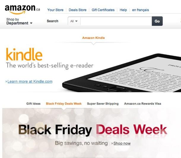 Amazon Black Friday Québec - Geekorner - 1
