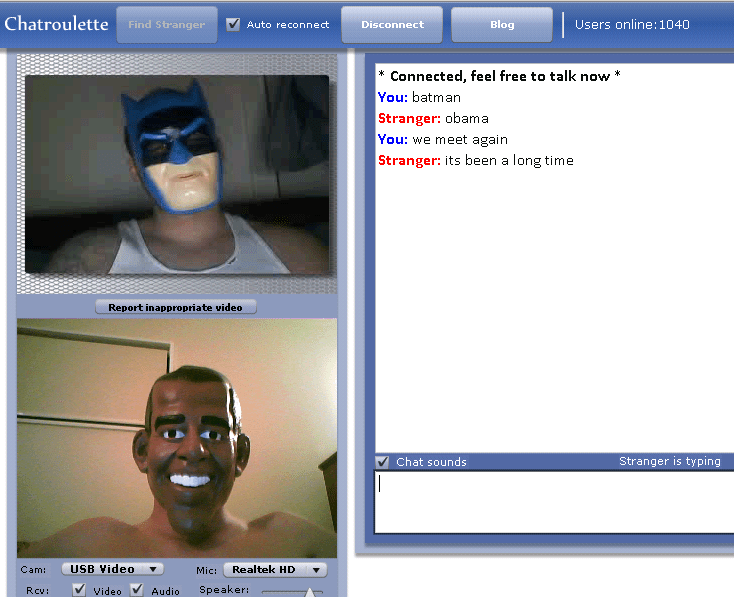 Omegle chat random chatroulette