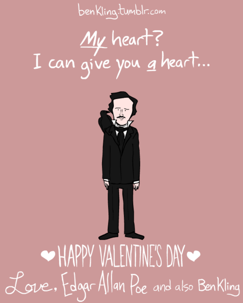 Ben Klings Historical Valentines Are Pun Tastic The