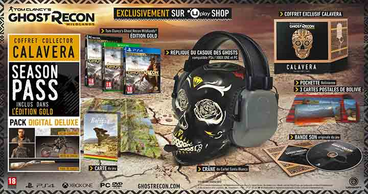 Edition collector Tom Clancy Ghost Recon Wildlands