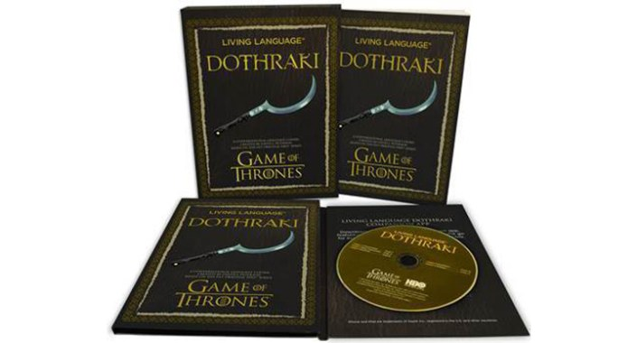 Apprenez le Dothraki, langue inventée pour Game of Thrones