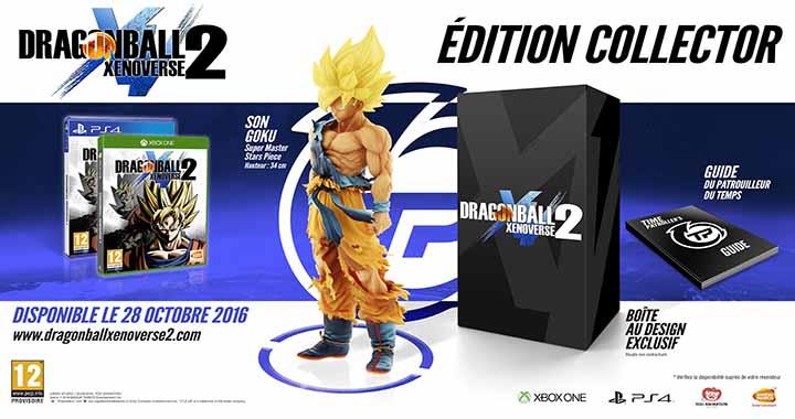 Édition collector Dragon Ball Xenoverse 2