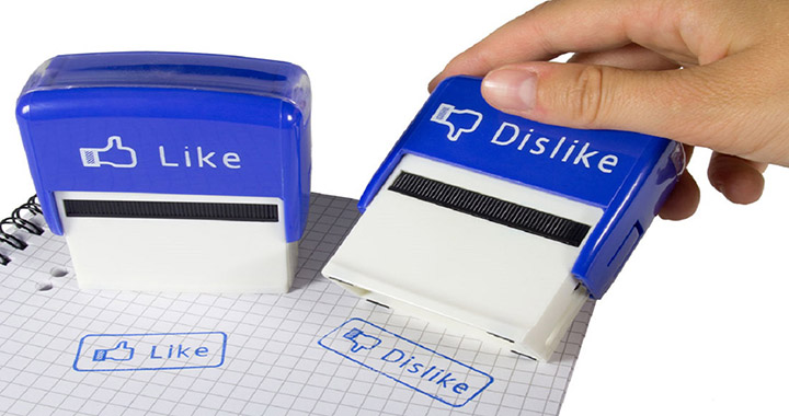 [Gadget] Tampon Like et Dislike inspirés de Facebook