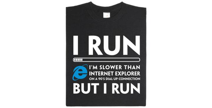 [T-Shirt] Comparez vous à Internet Explorer