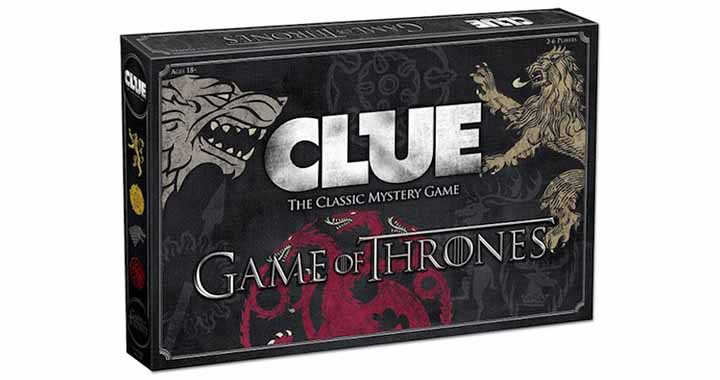 Cluedo Game of Thrones, enfin