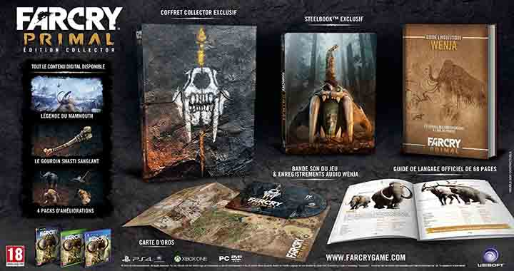 L'édition collector Far Cry Primal