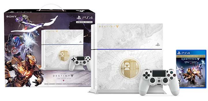 Nouvelle console édition limitée PS4 Destiny