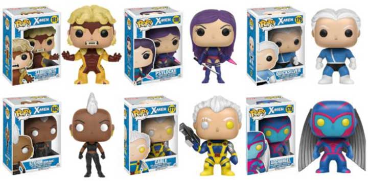 Nouvelles figurines Funko Classic X-Men