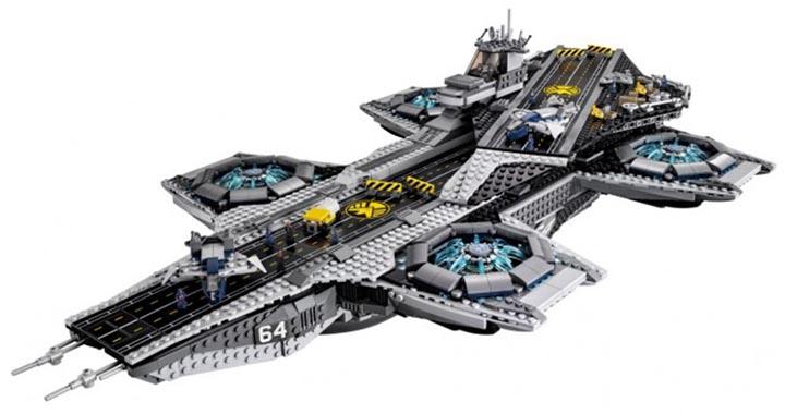 Présentation du Helicarrier Lego du S.H.I.E.L.D.