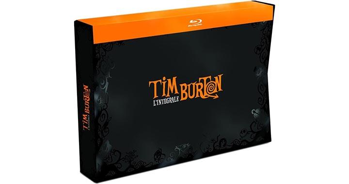 Edition limitée de l'intégral Tim Burton 2015