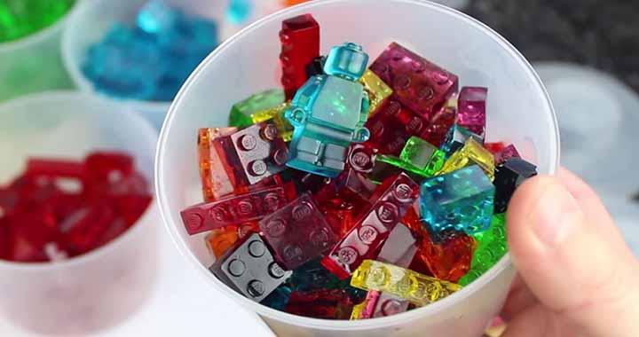 Bonbons Lego à faire soit-même