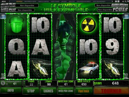 machines à sous Marvel casino (2)