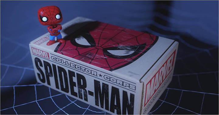 Marvel Collector Corps Spider-Man 2016