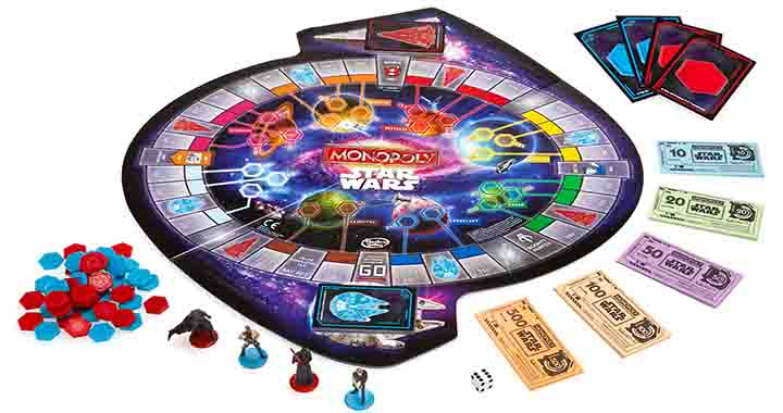 Monopoly Star Wars, dominez les galaxies