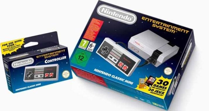 Nintendo sort une Classic Mini NES