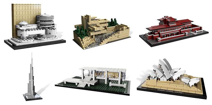 Les sets Lego Architecture c'est quoi et combien?