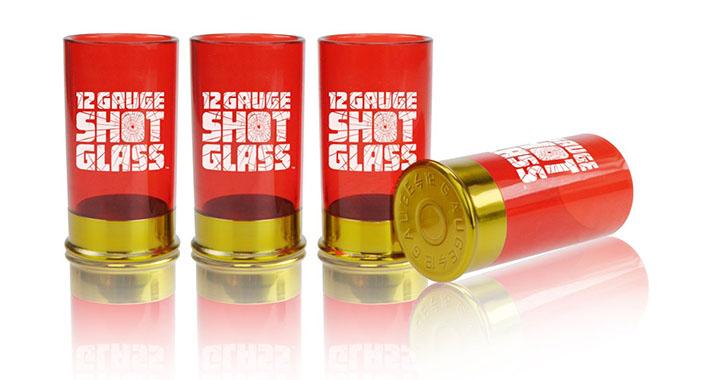 Gadget | Des verres à shot cartouches de fusil