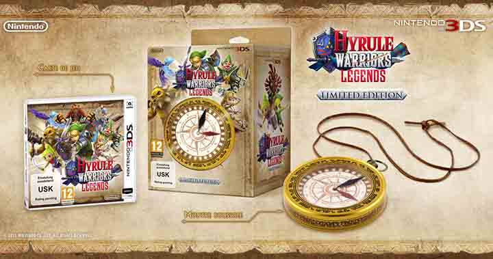 Edition limitée d'Hyrule Warriors : Legends
