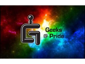 Geeks@Pride graphic