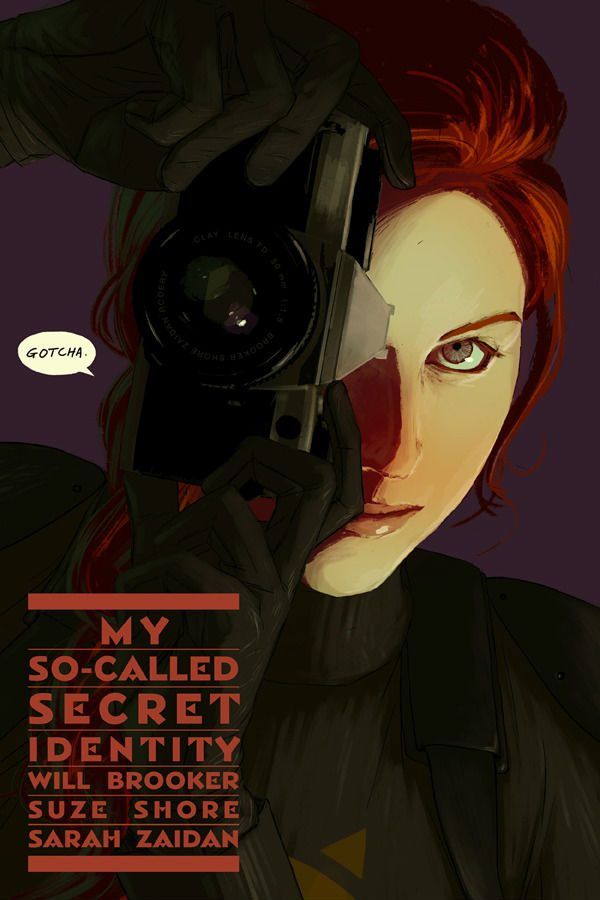My So-Called Secret Identity Kickstarter Promotional