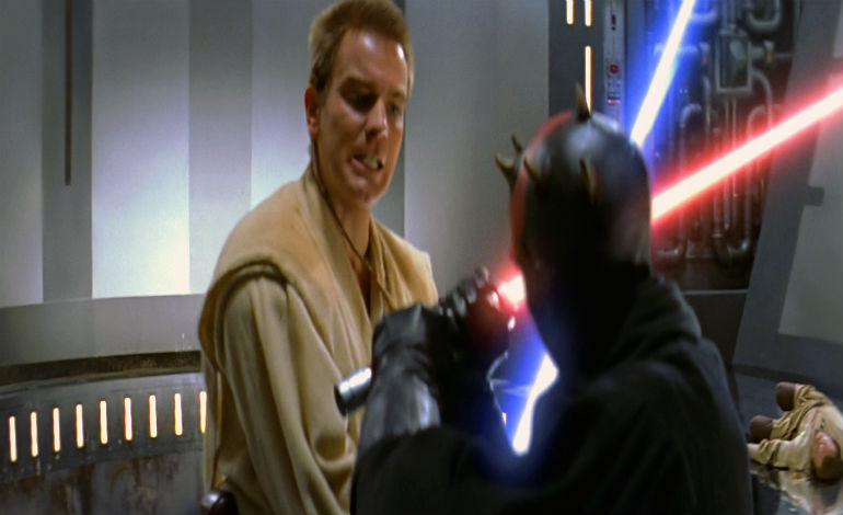 Obi-Wan Verses Darth Maul