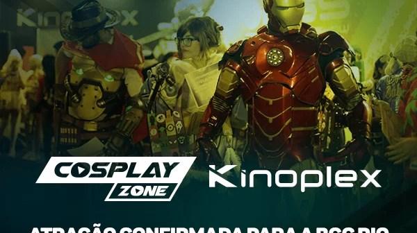 #BGCRio | Kinoplex patrocinará a Cosplayzone