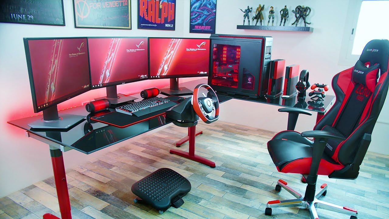Setup De Boss GeekQcca