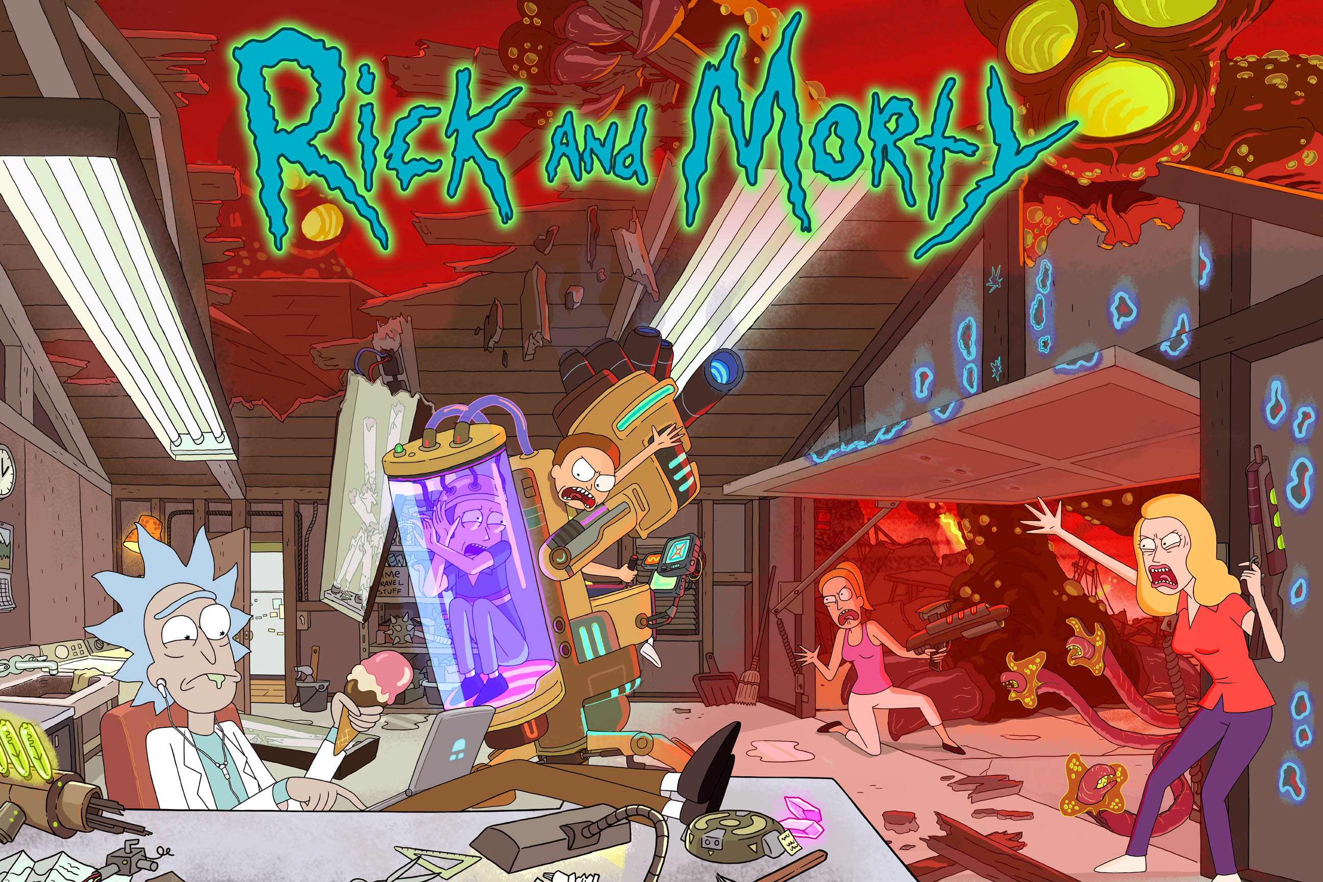 Des Fonds Dcrans Rick And Morty Pour Vos PC Et Tlphone