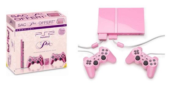 ps2 slim pink 3
