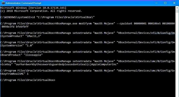 Apply Code for VirtualBox