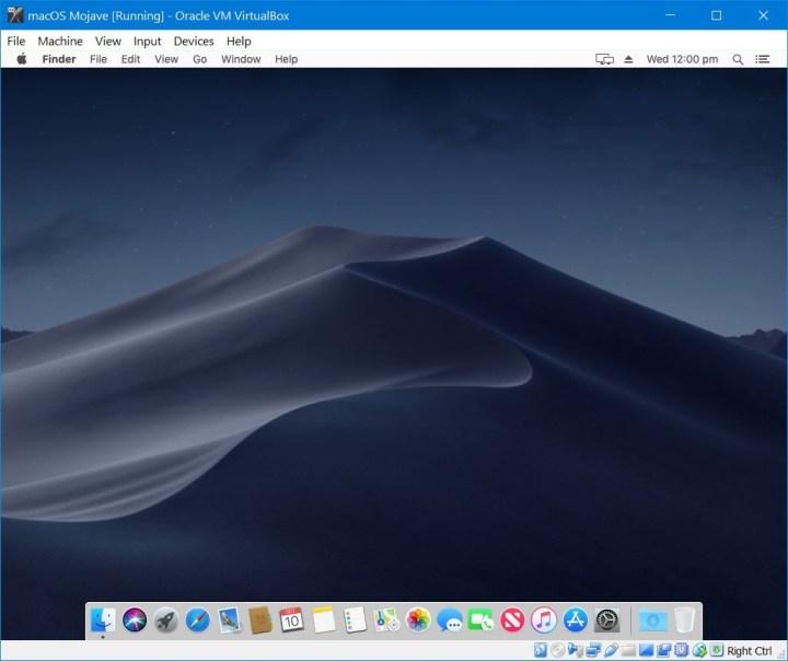 install macos mojave on virtualbox linux