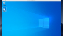 Install Windows 10 on macOS Mojave