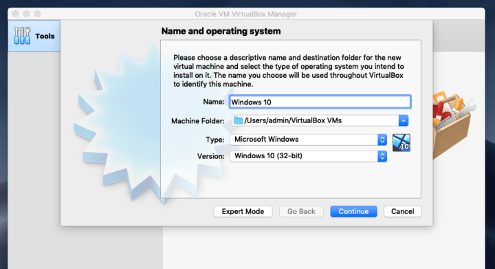 Name & Operating system
